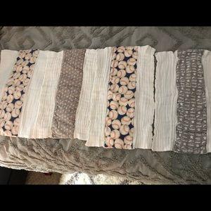 8 Baby Burp Cloths